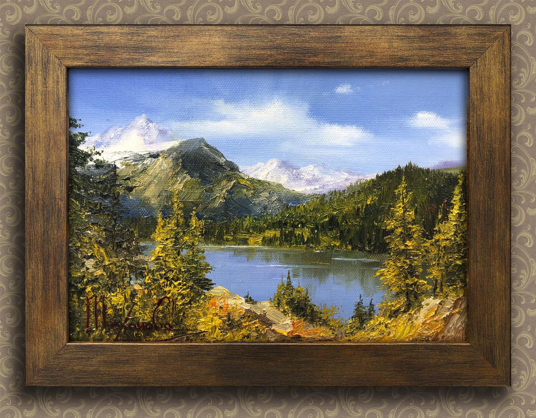Горное озеро Тихонова Любовь