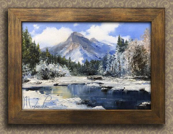 Лёд в горах Тихонова Любовь