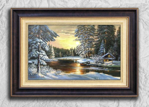 Река замёрзла Кнутов Вячеслав