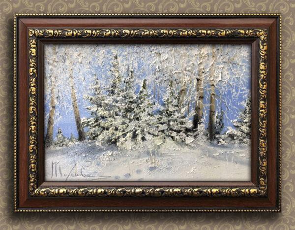 Снежные лапы Тихонова Любовь