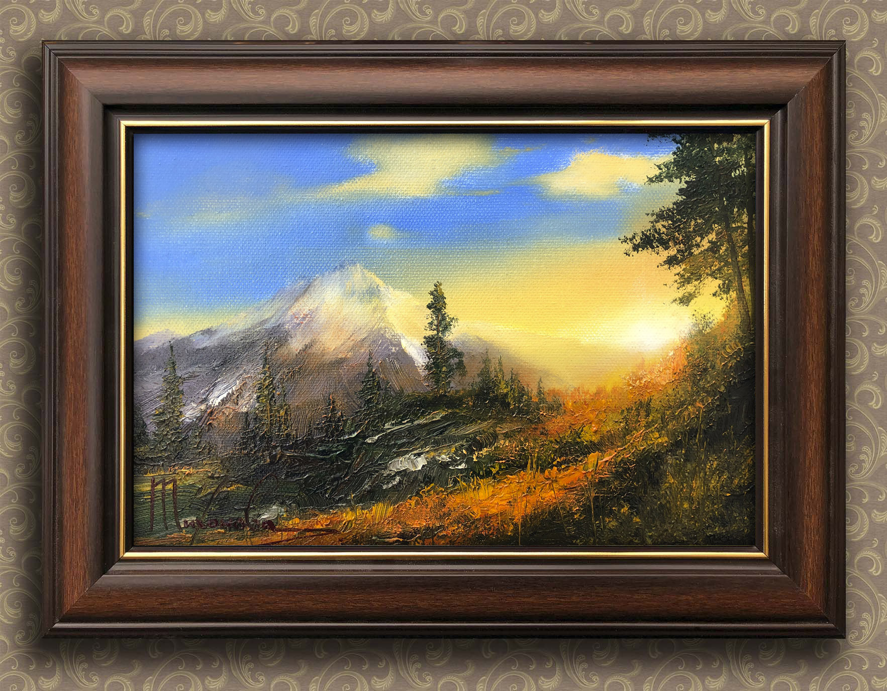 Закат в горах Тихонова Любовь